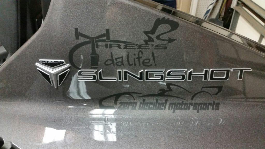 Polaris Slingshot Fender Vents Zero Decibel Motorsports
